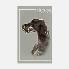 English Setter-4 Rectangle Decal