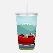 Cute Childrens Acrylic Double-wall Tumbler