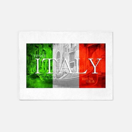 VENICE ITALY GONDOLA 5'x7'Area Rug