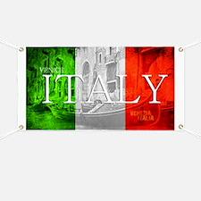 VENICE ITALY GONDOLA Banner