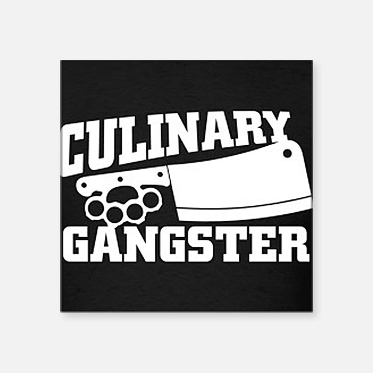 Culinary Gangster Sticker