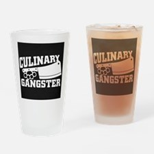 Culinary Gangster Drinking Glass