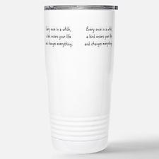 Cool While Thermos Mug