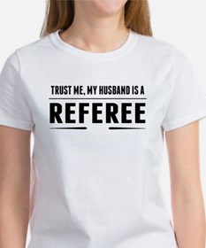 My Husband Is A Referee T-Shirt