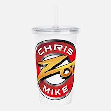 Chris Mike Zoo Acrylic Double-Wall Tumbler