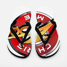 Chris Mike Zoo Flip Flops
