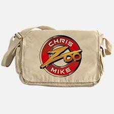 Chris Mike Zoo Messenger Bag