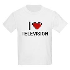 I love Television Digital Design T-Shirt