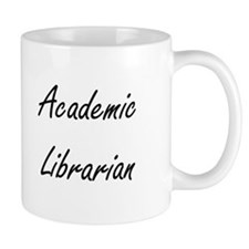 Academic Librarian Artistic Job Design Mugs