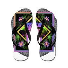 Bold Beautiful E Flip Flops