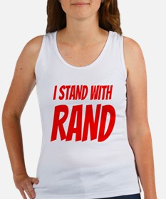I Stand With Rand Women's Tank Top