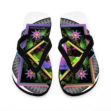 Bold Beautiful F Flip Flops