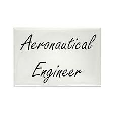 Aeronautical Engineer Artistic Job Design Magnets