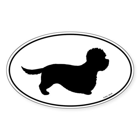 Dandie Dinmont Terrier Sticker (Oval)