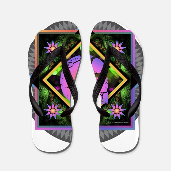 Bold Beautiful G Flip Flops