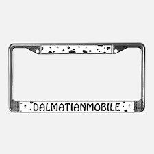 Dalmatianmobile License Plate Frame