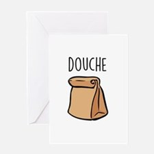 Douchebag Greeting Cards