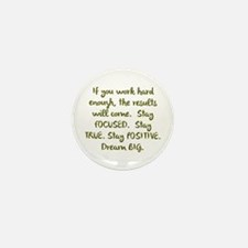 Eye On The Prize Dream BIG Design Mini Button (10