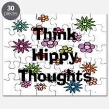 Think Hippy Thoughts Puzzle