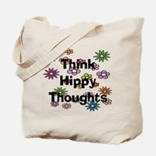 Think Hippy Thoughts Tote Bag