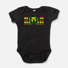 hawaii kanaka flag Baby Bodysuit