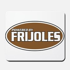 Powered By Frijoles Mousepad