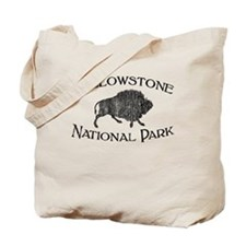 Yellowstone National Park (Bison) Tote Bag