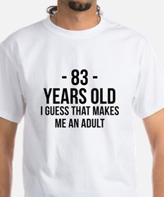 83 Years Old Adult T-Shirt