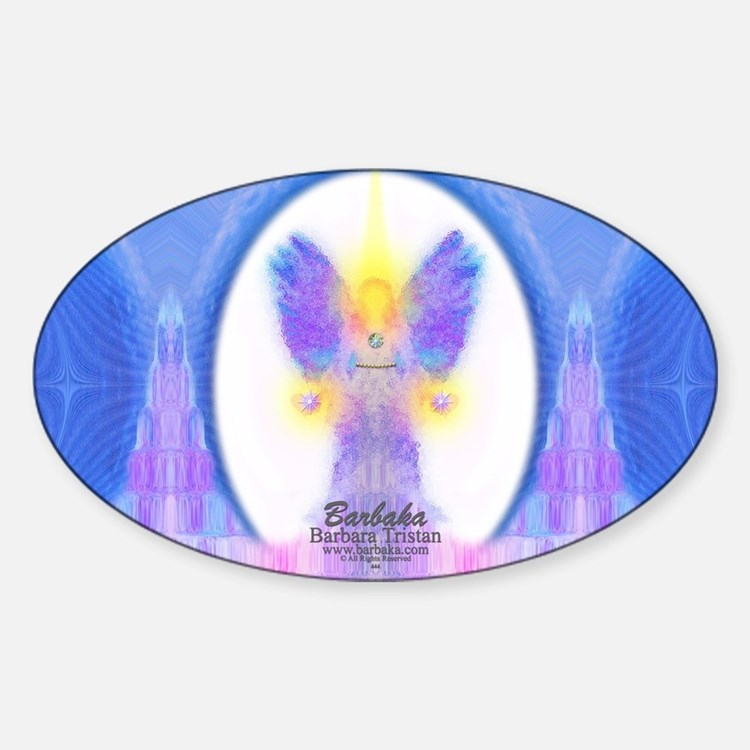444 Angel Crystals Decal