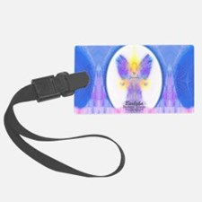 444 Angel Crystals Luggage Tag