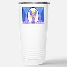 444 Angel Crystals Stainless Steel Travel Mug