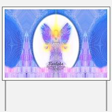 444 Angel Crystals Yard Sign