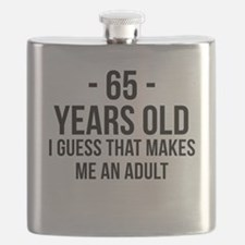 65 Years Old Adult Flask