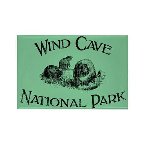 Wind Cave National Park (Prairie Dogs) Rectangle M
