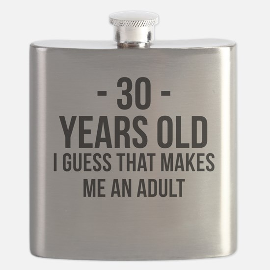 30 Years Old Adult Flask