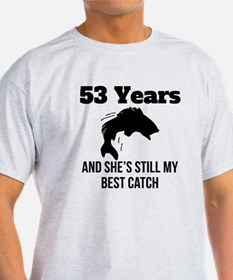 53 Years Best Catch T-Shirt