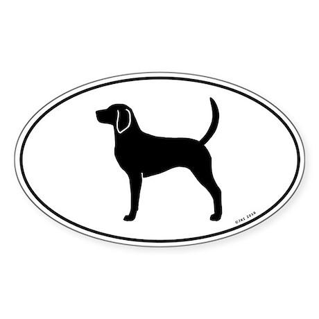 English Foxhound Sticker