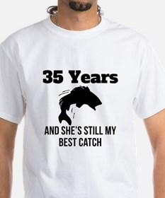 35 Years Best Catch T-Shirt