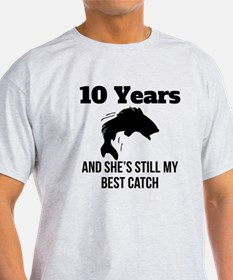10 Years Best Catch T-Shirt