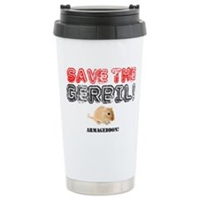SAVE THE GERBIL - ARMAG Travel Mug