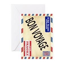 Bon Voyage Greeting Cards 02(pk Of 10)