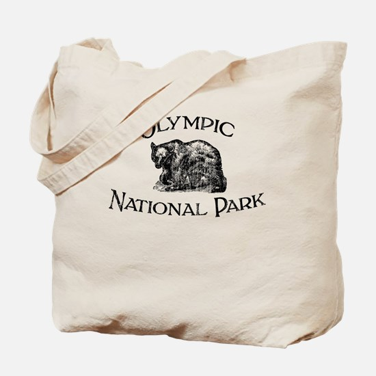 Olympic National Park (Bear) Tote Bag
