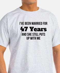 Ive Been Married For 47 Years T-Shirt