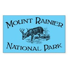 Mount Rainier National Park (Mule Deer) Decal