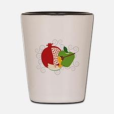 Shana Tova Holiday Design Shot Glass