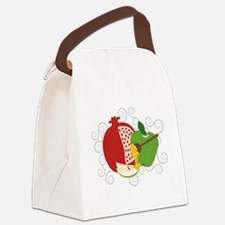 Shana Tova Holiday Design Canvas Lunch Bag
