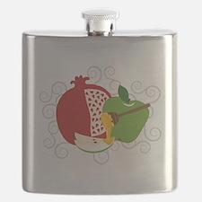 Shana Tova Holiday Design Flask