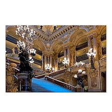 Stunning! Paris Opera Postcards (Package of 8)