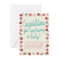 Unique Cool pregnant women Greeting Card