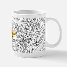 Butterfly Sketch 2 Mugs